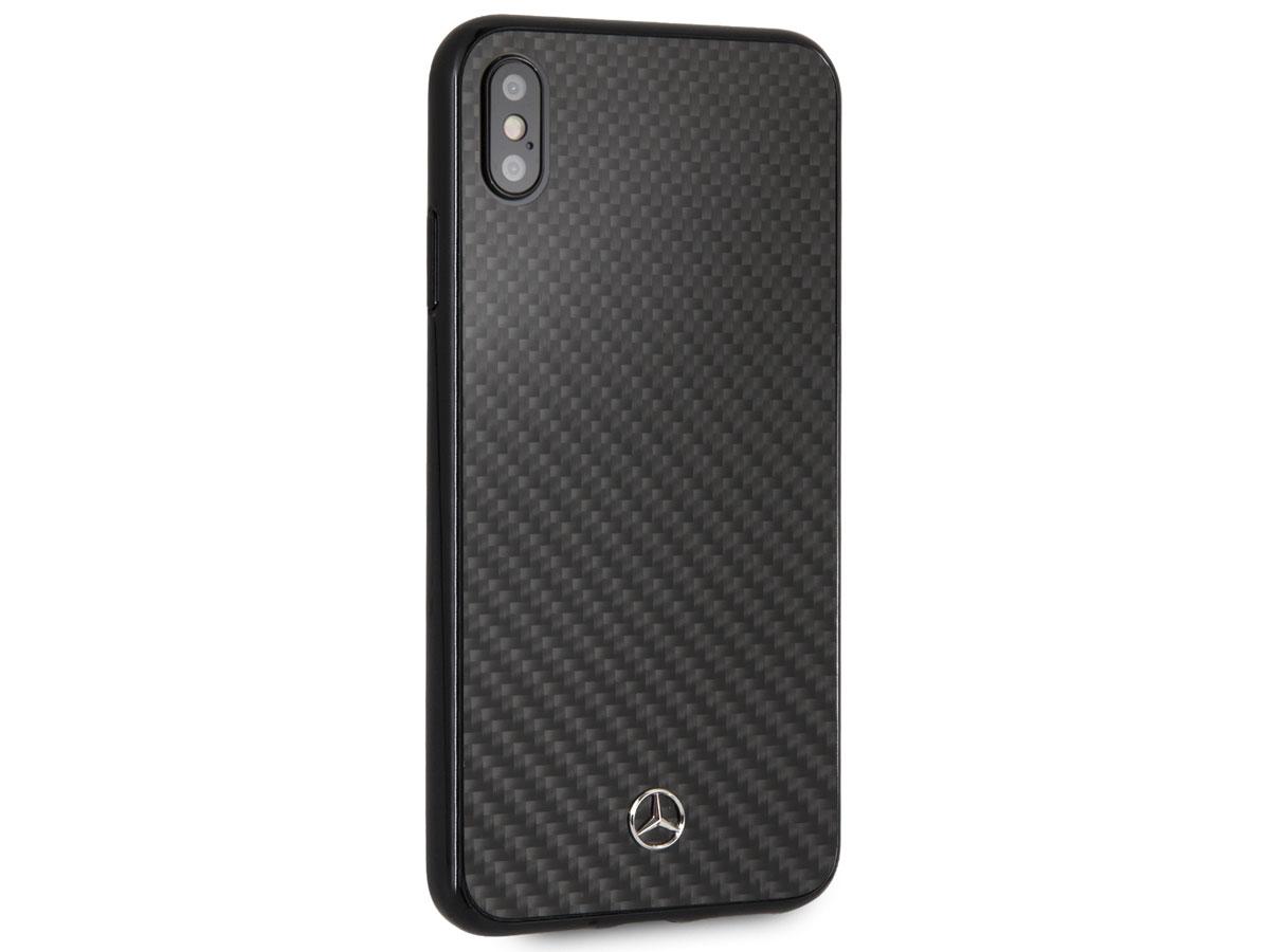 Mercedes Benz Carbon Fiber Case Iphone Xs Max Hoesje