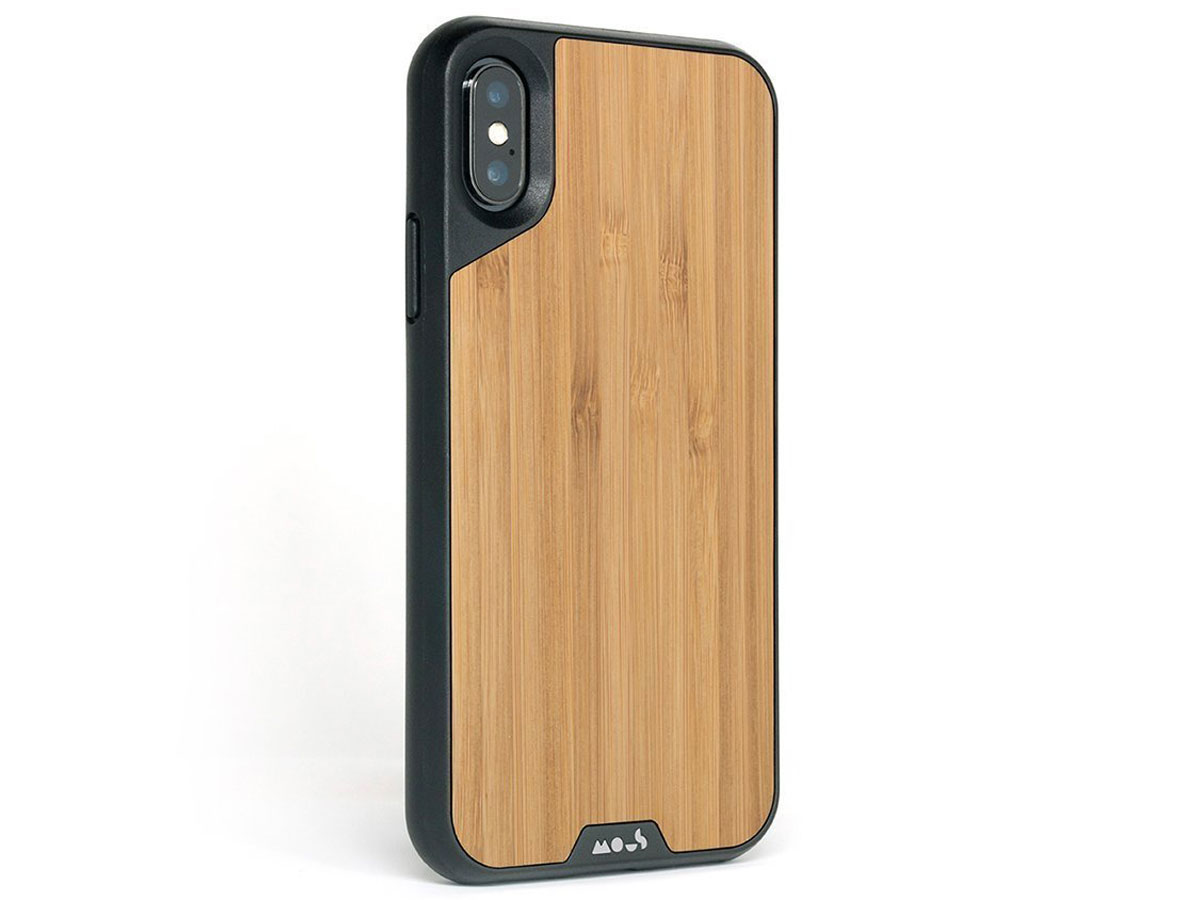 Mous Limitless 2.0 Bamboo Case - iPhone Xs Max hoesje