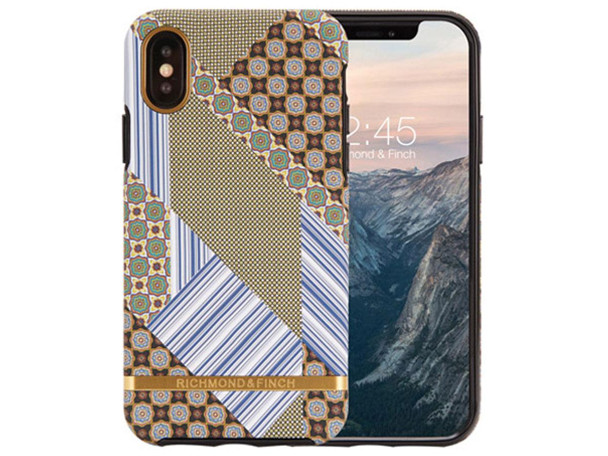 Richmond & Finch Suit & Tie Case - iPhone Xs Max hoesje Print