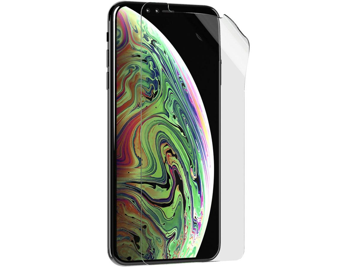 Tech21 Impact Shield - iPhone Xs Max Screenprotector Self-Heal