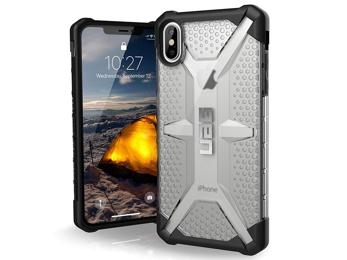 premium selection ec736 2bea3 Urban Armor Gear Plasma Ice Case - iPhone Xs Max hoesje