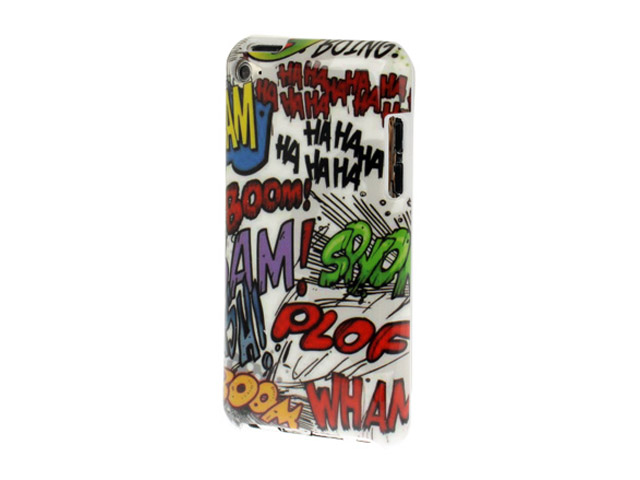 Cartoon Style Back Case Hoesje voor iPod touch 4G