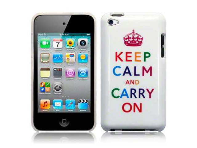 CaseBoutique Keep Calm Carry On Case - iPod touch 4G hoesje
