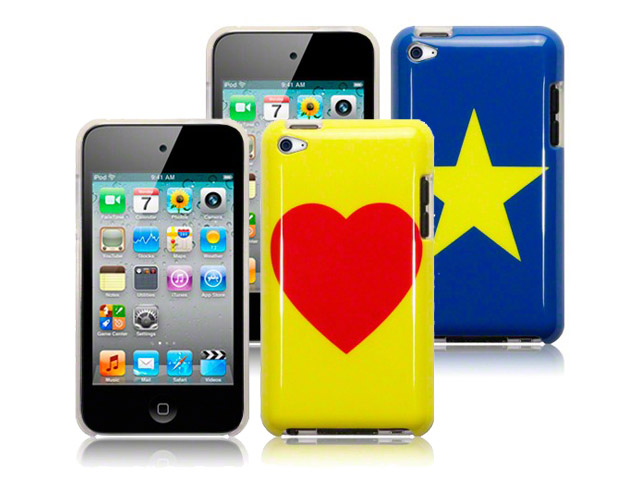 CaseBoutique Stars & Hearts Case - iPod touch 4G hoesje