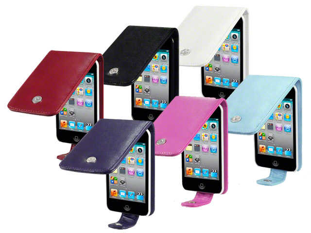 CaseBoutique UltraSlim Topflip Case Hoesje voor iPod touch 4G