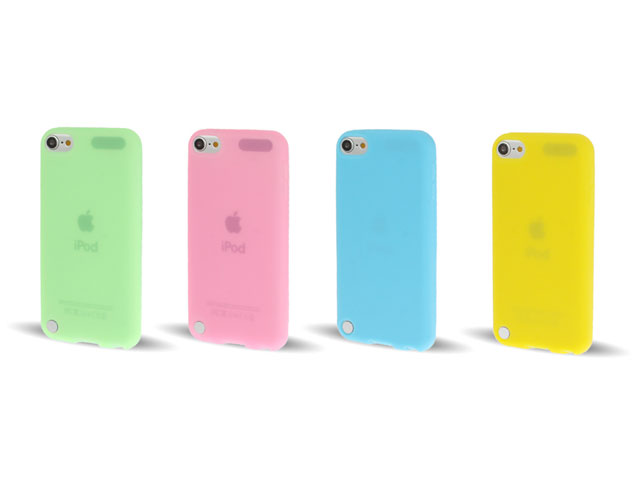 Bright Colors Silicone Skin voor iPod Touch 5G