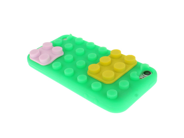 Building Blocks Silicone Skin Hoesje voor iPod touch 5G/6G