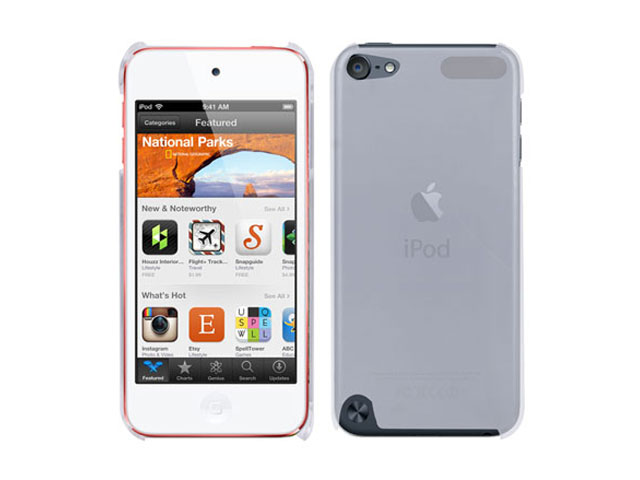 Frosted Crystal Case Hoes voor iPod touch 5G/6G