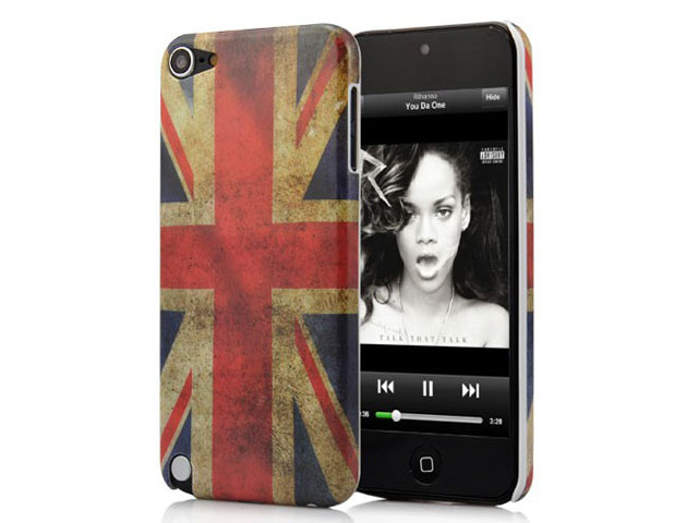 Great Brittain Vintage Case - iPod touch 5G/6G hoesje