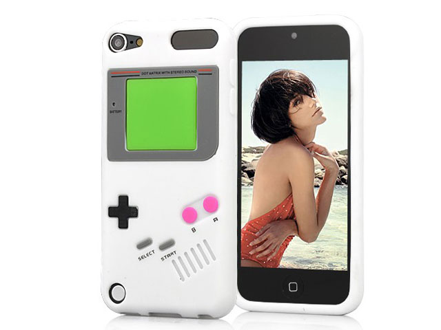 Retro Game Machine Silicone Skin Hoes voor iPod touch 5G/6G