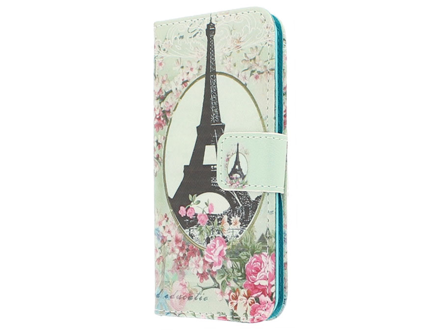Retro Paris Walletcase - iPod touch 5G/6G hoesje