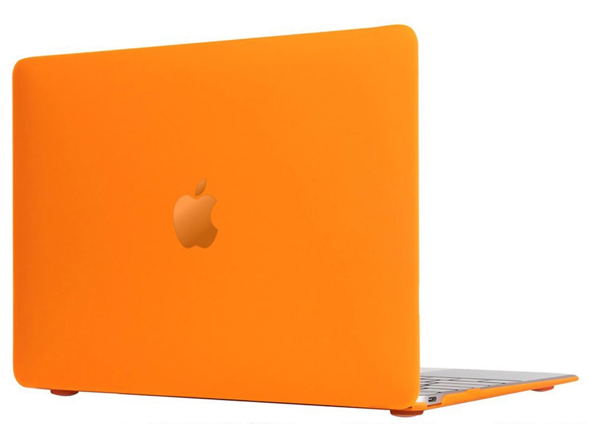 MacBook 12 inch Cover Hard Case (Oranje)