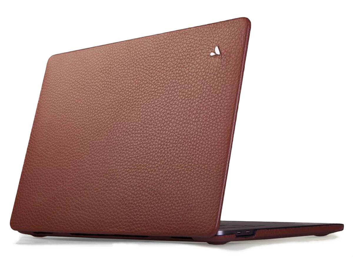 Vaja Suit Leather Case Bruin - Leren MacBook Pro 16
