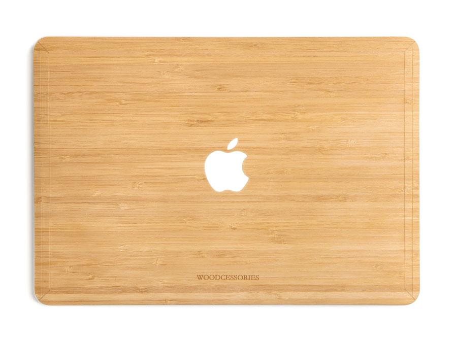 Woodcessories ecoskin bamboo macbook air 13 cover - Model bibliotheek houten ...