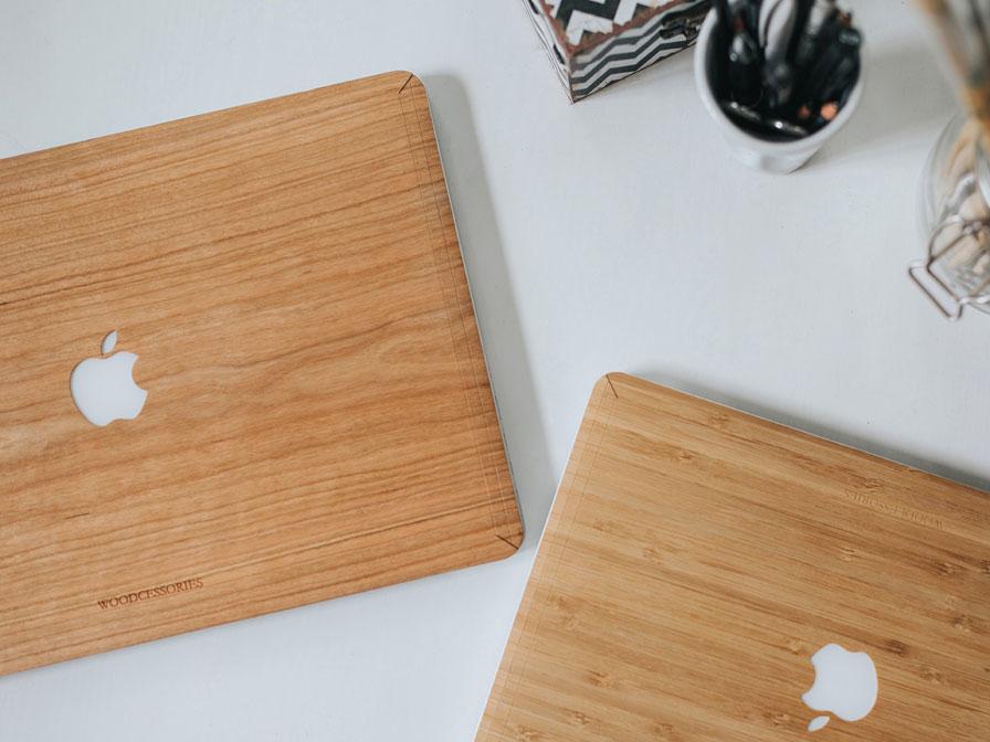 Woodcessories ecoskin bamboo macbook pro 15 retina - Model bibliotheek houten ...
