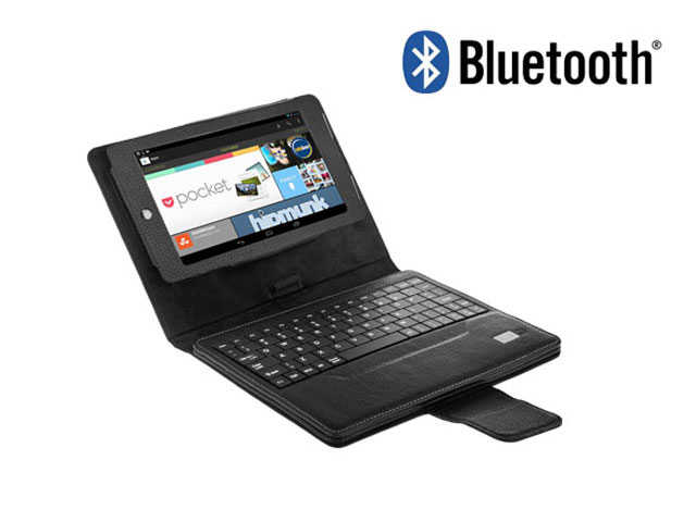 Keyboard Folio Leren Case voor Asus Google Nexus 7