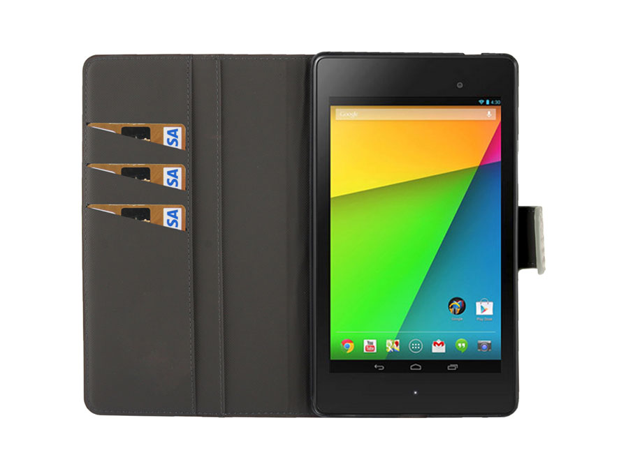 Crocodile Cinema Stand Case voor Asus Nexus 7 2 (versie 2013)