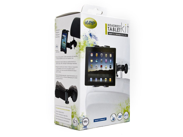iGrip Universal Headrest Tablet Kit - Tablet Hoofdsteun houder