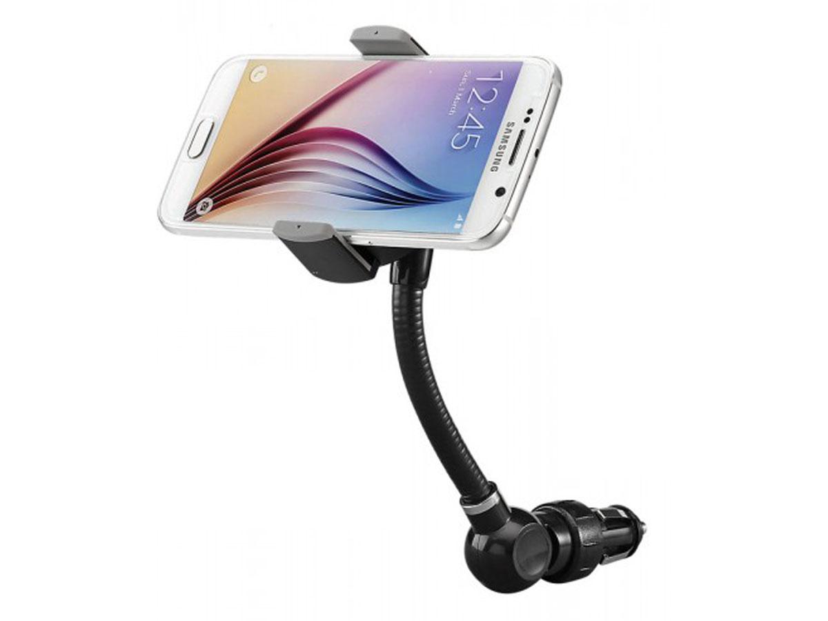 Goji Wireless Charging Mount - Autohouder QI Oplader Zwart