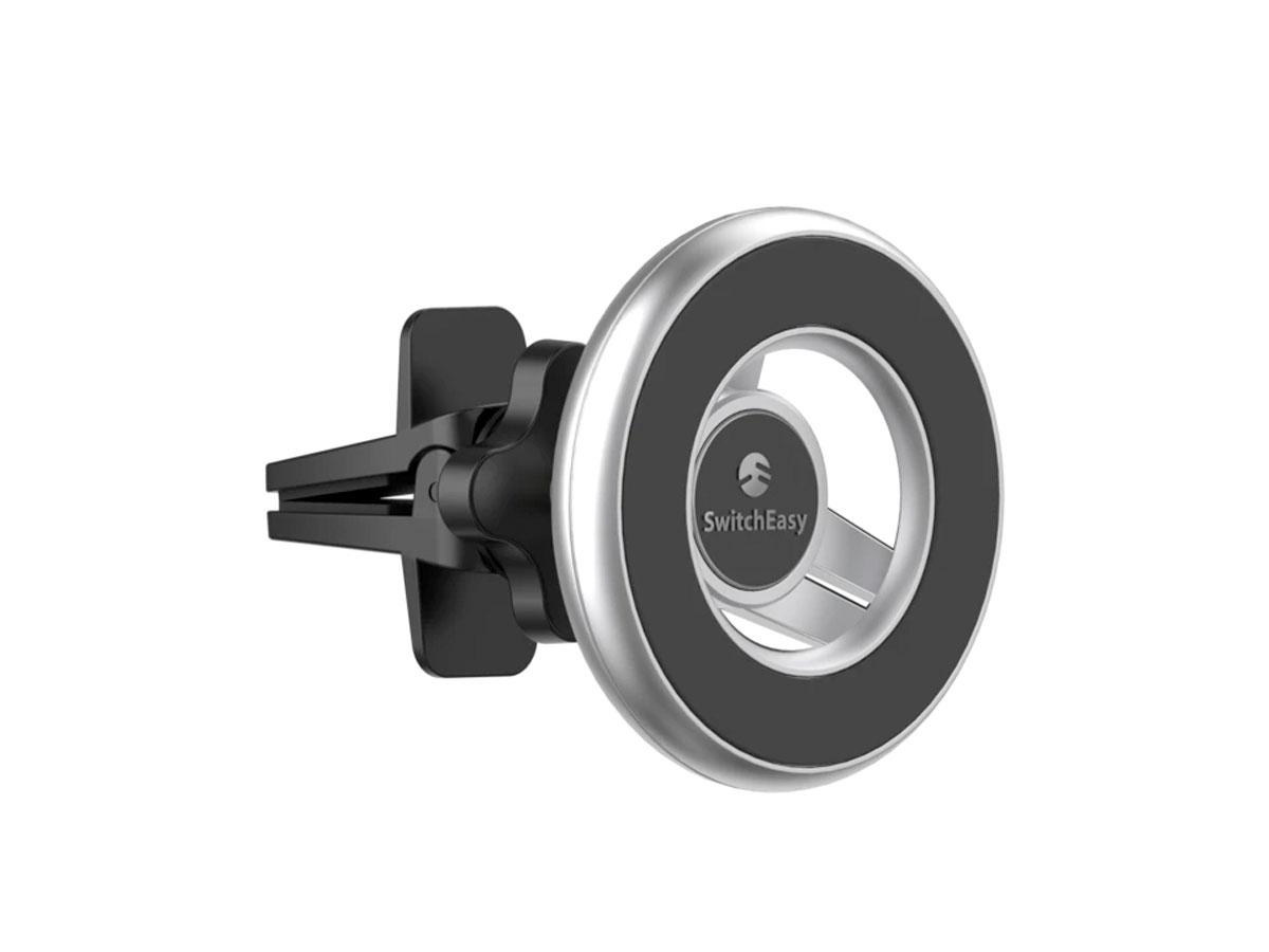 SwitchEasy MagMount Vent Mount Zilver - MagSafe compatible Autohouder