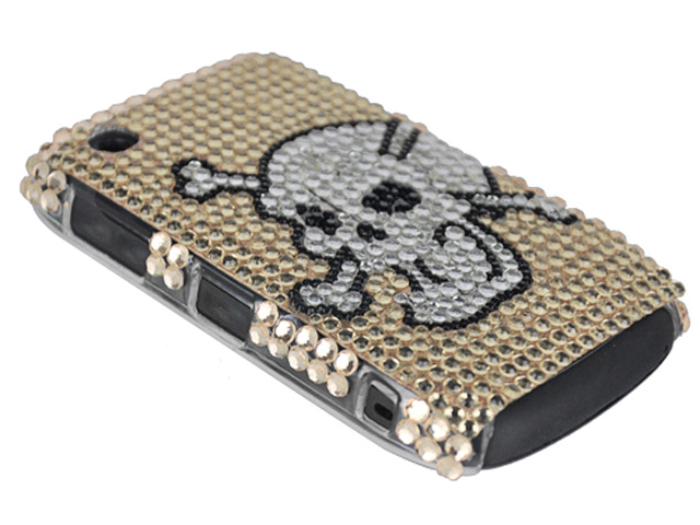 AngrySkull Diamond Case Blackberry Curve 8520/9300