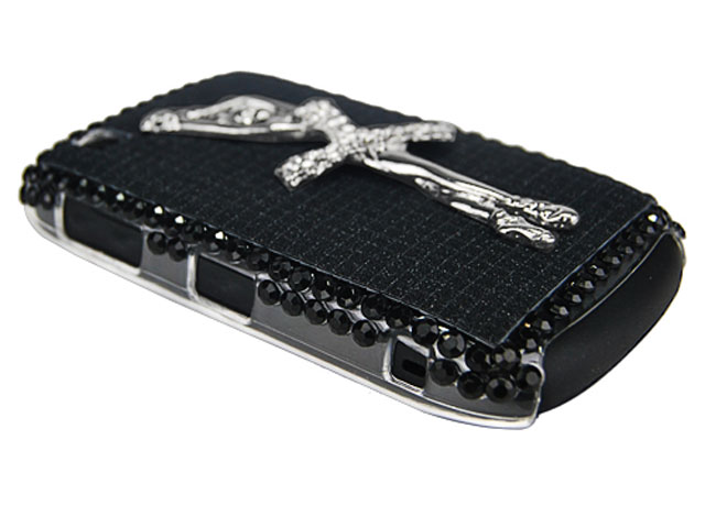 Ballerina Diamond Case voor Blackberry Curve 8520/9300