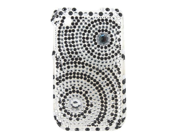 Diamond Circles Case Blackberry Curve 8520/9300 3G