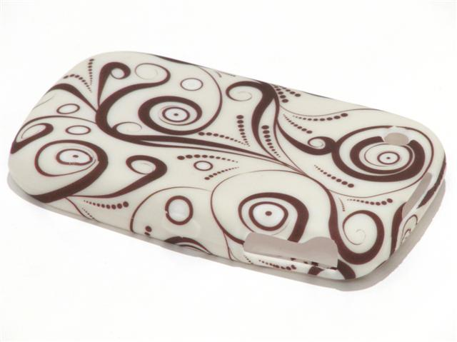 Coffee Swirl TPU Case Hoes Blackberry 8520/9300