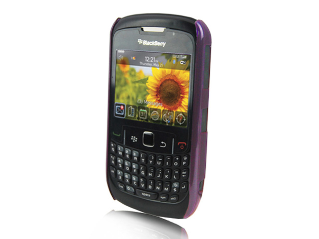 Crystal Clear Case voor Blackberry Curve 8520/9300