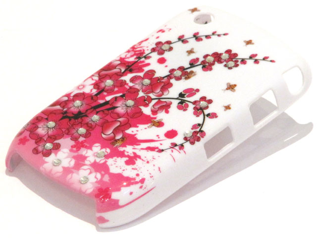 Crystals China Blossom Case Blackberry Curve 8520/9300