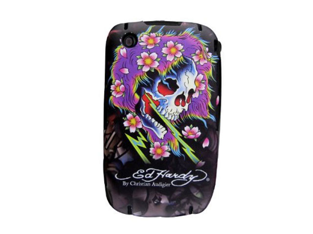 Ed Hardy Beautiful Ghost Case Blackberry 8520/9300