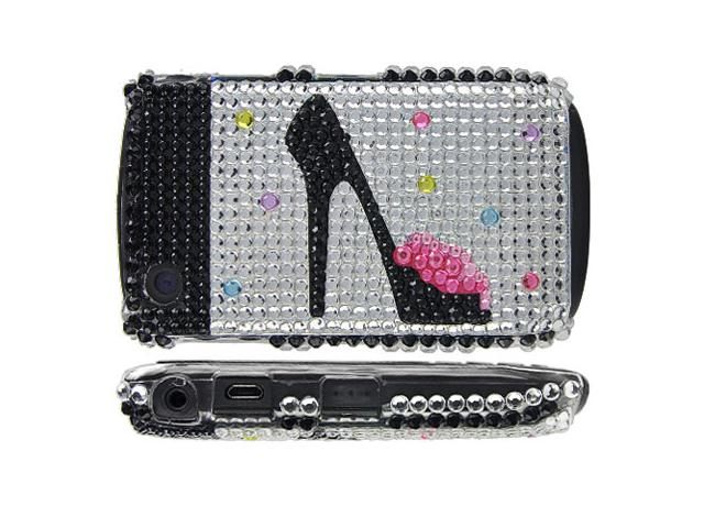 High Heel Diamond Case Hoes Blackberry Curve 8520/9300