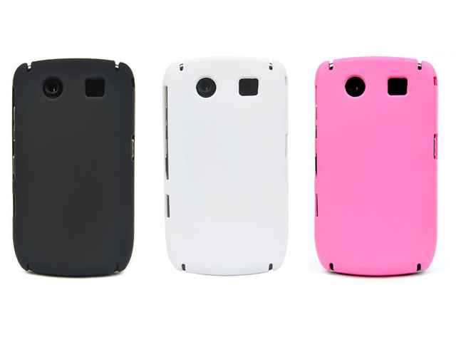 Frosted Back Case voor Blackberry Curve 8900