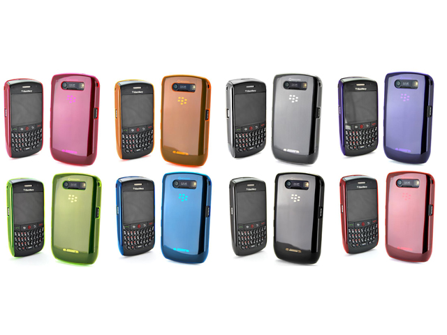 Crystal Back Case voor Blackberry Curve 8900