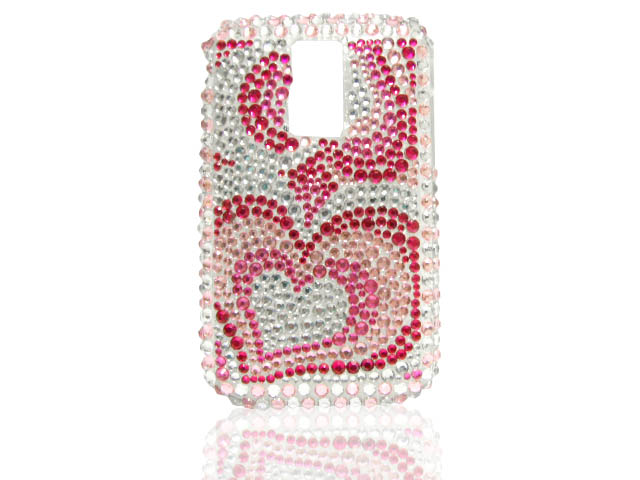 Diamond Hearts Case voor Blackberry Bold 9000