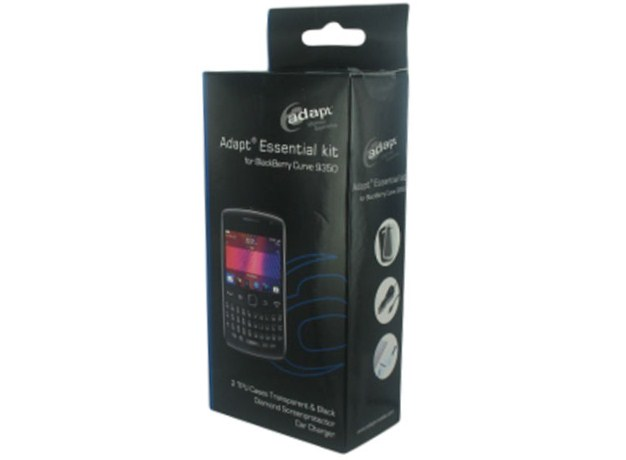 Adapt Essential Kit voor Blackberry Curve 9360: Hoesjes, Lader & meer!