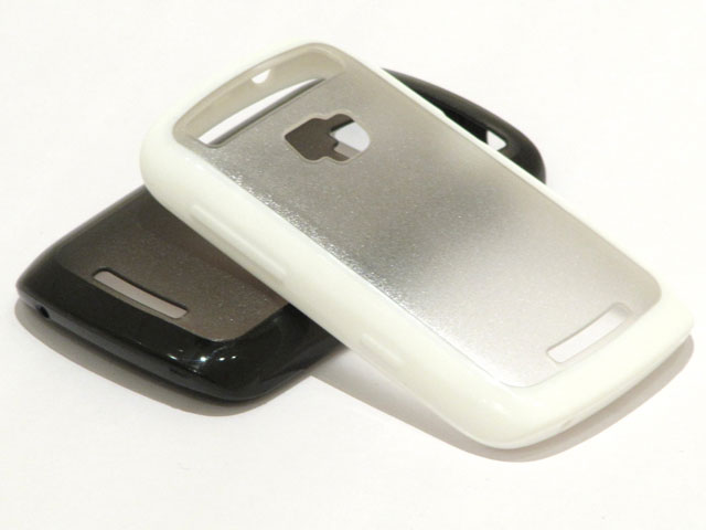 BiMat Polymer Crystal Case voor Blackberry Cruve 9360