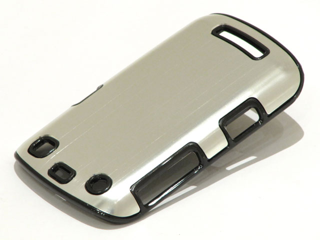 Brushed Aluminium Case Hoes Blackberry Curve 9360