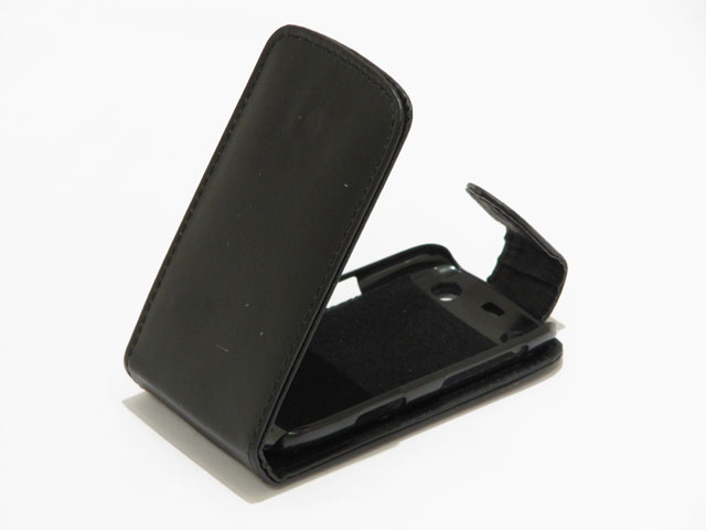 Business Leather Case voor Blackberry Curve 9360