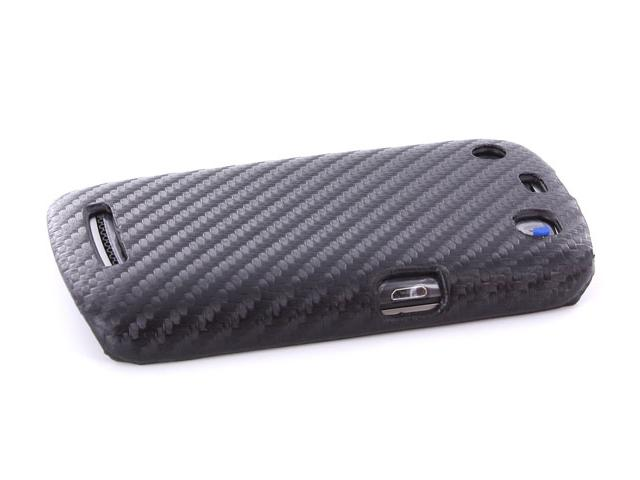 Carbon Back Case Cover voor Blackberry Curve 9360