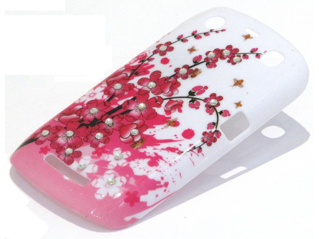Crystals China Blossom Case Blackberry Curve 9360