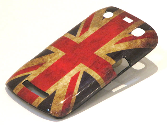 Great Brittain Vintage Flag Case voor Blackberry Curve 9360