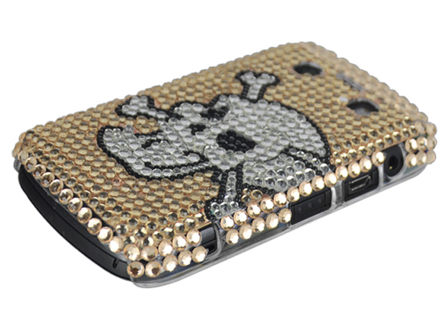 Angry Skull Diamond Case Blackberry Bold 9700/9780