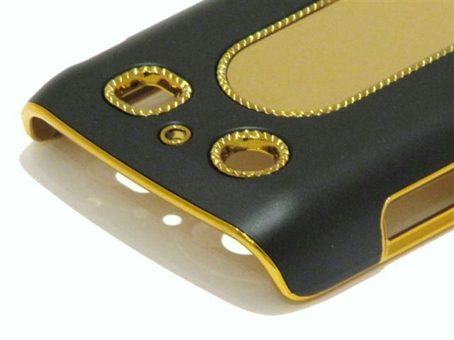 Beautiful Gold Case Hoes Blackberry Bold 9700/9780
