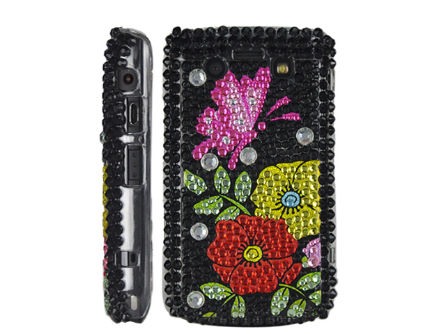 Butterfly Flower Case Hoes Blackberry 9700/9780