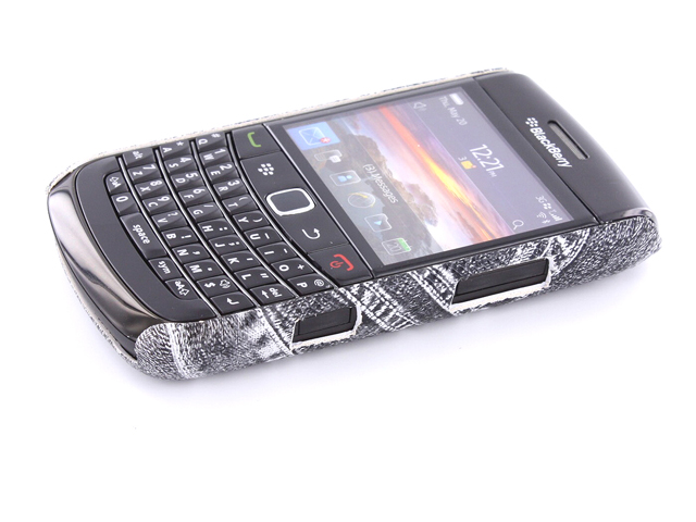 Denim Jeans Case Hoes Blackberry Bold 9700/9780