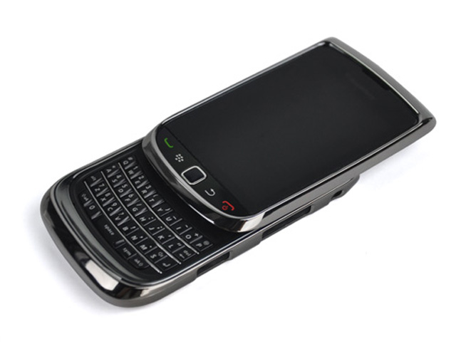 Carbon Deluxe Case Hoes Blackberry Torch 9800