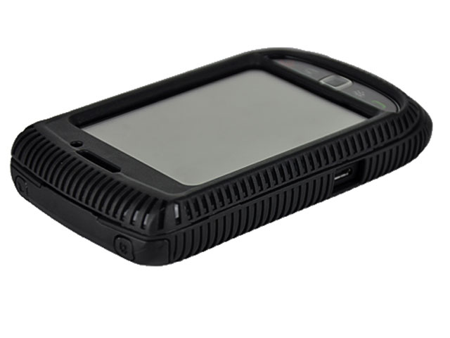 DuoProtect Silicon Hard Case Blackberry Torch 9800