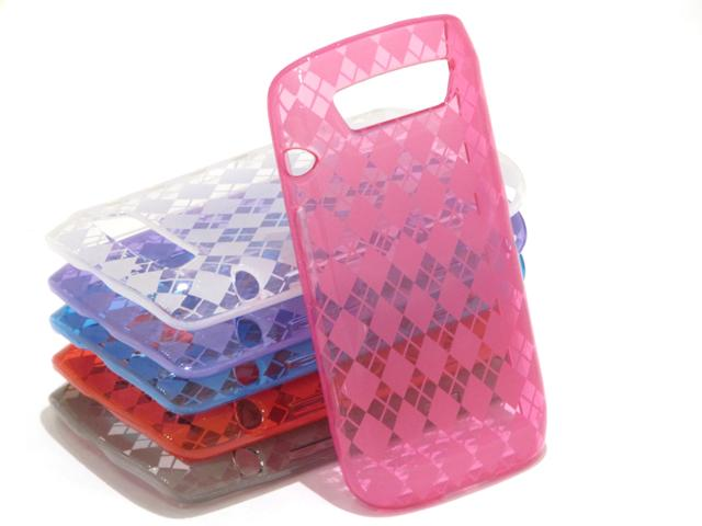 Argyle TPU Case Hoes voor Blackberry Torch 9860