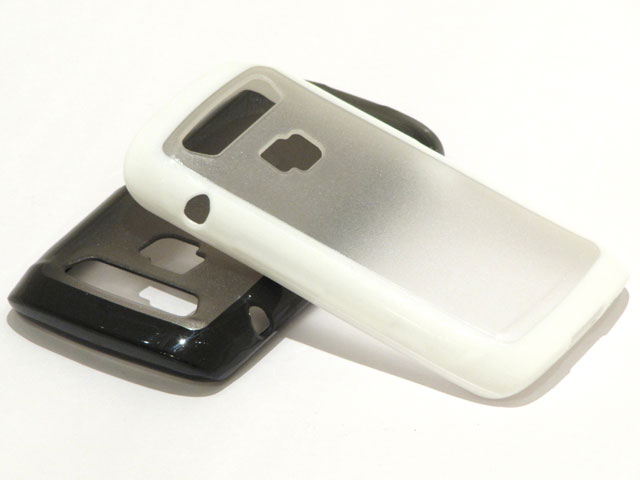 BiMat Polymer Crystal Case voor Blackberry Torch 9860